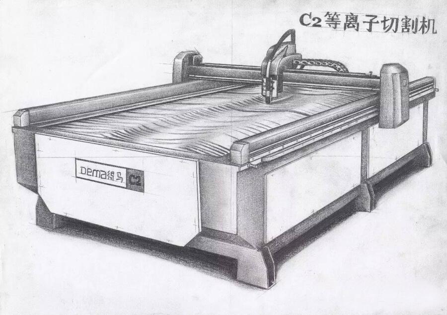 DEMA-C2等离子切割机素描