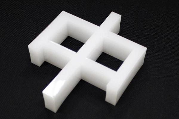 雕刻机雕刻的亚克力样品