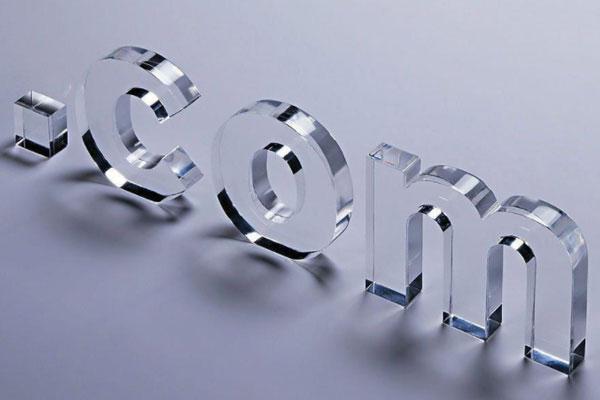 雕刻机雕刻的水晶字