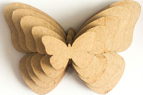 密度板蝴蝶