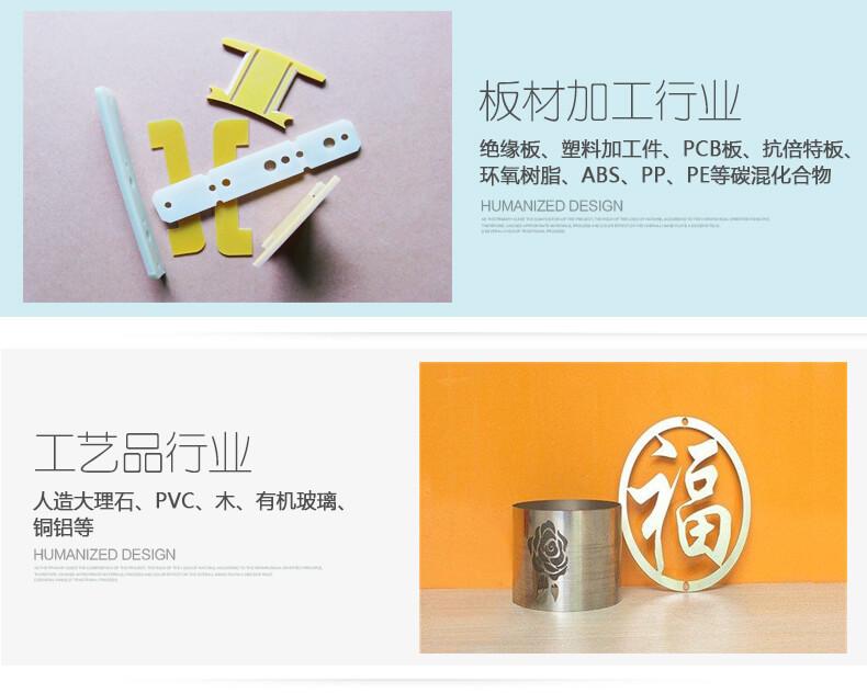 M1迷你字高速雕刻机的应用展示