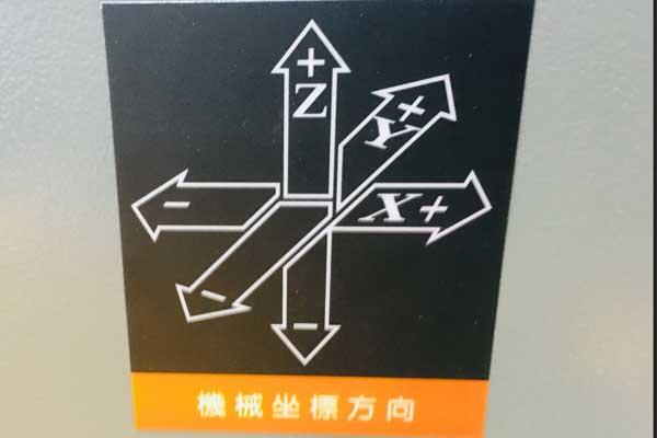 雕刻机x轴y轴z轴代表的方向